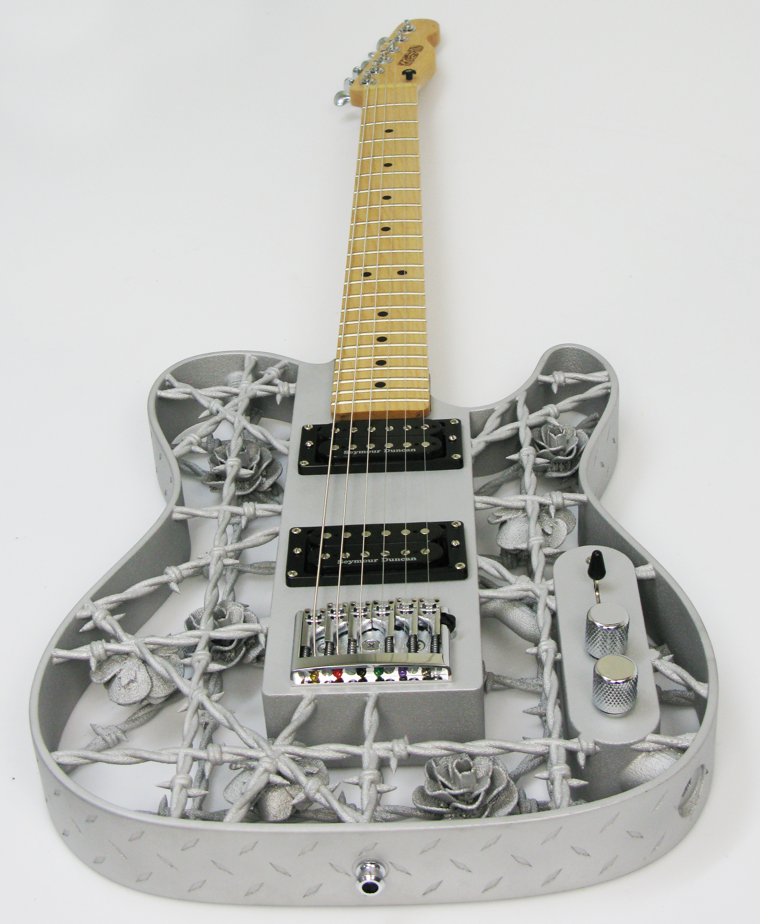 The World's First 3D Printed Aluminium Guitar!